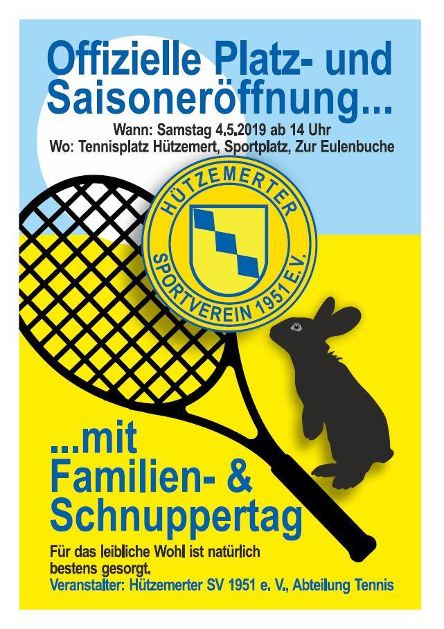 Abteilung Tennis lädt ein
