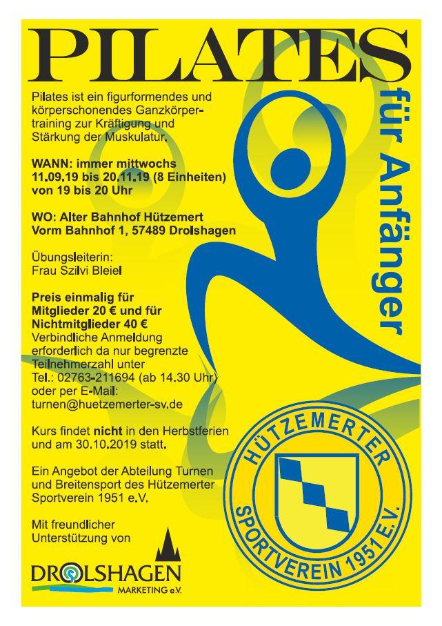 Neuer Pilates Kurs!