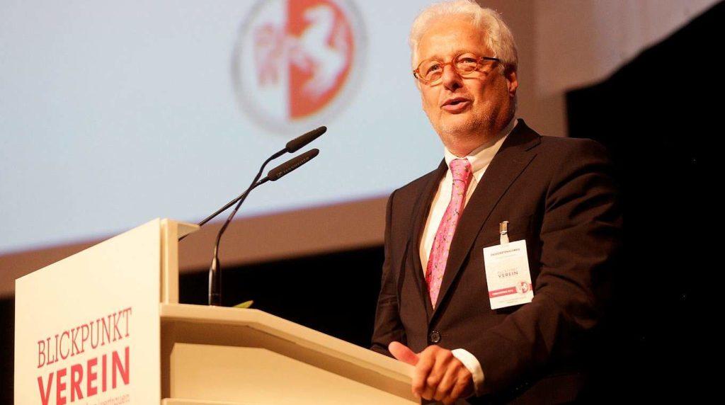 FLVW Präsident Gundolf Walaschewski
