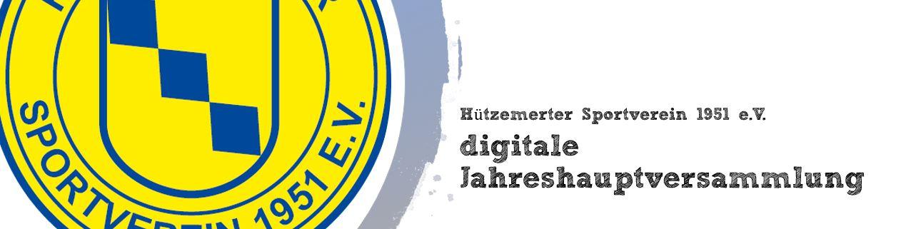 Jahreshauptversammlung Hützemerter Sportverein 1951 e.V.